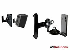 Sonos Play 3 Zone Player - Adjustable Steel/Metal Wall Mounting Bracket (Black)