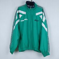 UMBRO Vintage Mens Green Tracksuit Top Outdoor Lined Jacket SIZE XL, BNWT
