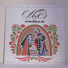 """33T NOËL Disque LP 12"""" PRAGUE HERCL - MUSIQUE SACREE - SUPRAPHON RARE Limité"""