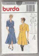 Patron Couture BURDA N°4604 Robe manches courtes du 38 au 48