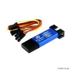 ST-Link V2 STM8 STM32 USB Simulator Download Programmer With 20cm Liner