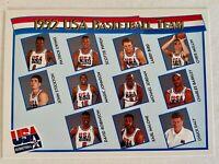 1991-92 McDonalds Hoops #62 USA Basketball Team The Dream Team