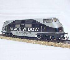 Marklin AC HO SANTA FE BLACK WIDOW DEMONSTRATOR V-200 DIESEL LOCOMOTIVE Promo`65