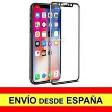 Cristal Templado 3D 5D IPHONE X Protector  Premium CURVO NEGRO a3808