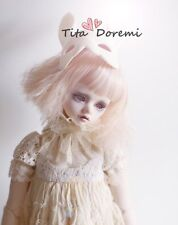 Bjd Doll parrucca 1/3 8-9 Dal Pullip AOD DZ AE SD DOD LUTS Dollfie pink Breve