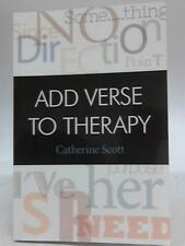 Add Verse to Therapy (Catherine Scott - 2015) (ID:85875)
