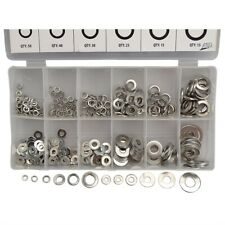 350-Pc Stainless Lock & Flat Washer Assortment #ME-360