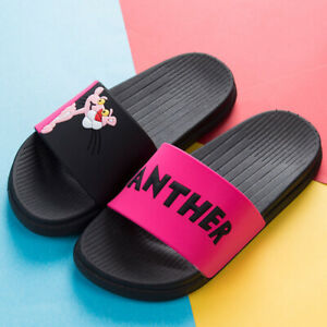 Women slippers Pink panther Home Badslippers Hausschuhe Zapatillas De Mujer