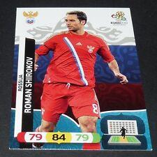 ROMAN SHIROKOV RUSSIE ROSSIJA FOOTBALL CARD PANINI UEFA EURO 2012