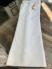 Stunning cream wide leg trousers by US label AREA, UK 12 as worn by Kardashians!