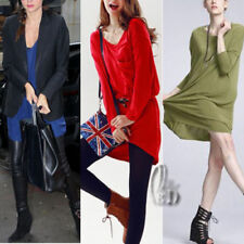 3/4 Sleeve Dresses Long Oversize