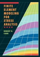 Finite Element Modeling for Stress Analysis by Robert D. Cook (1995, Hardcover)