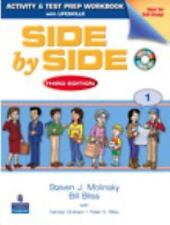 Side by Side 1 Activity and Test Prep Workbook (with Audio CD) by Steven...