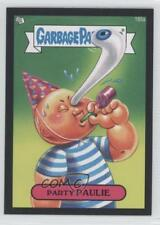 2013 Topps Garbage Pail Kids Brand-New Series 3 Black 185a Party Paulie Card 0f8