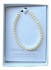 Girls Freshwater Pearl Bracelet 6 Inches