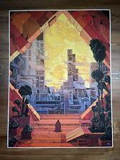 "Kilian Eng ""The Botanist's Window"" Art Print Poster XX/845 Mondo Zelda Galactus"
