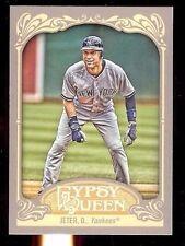 2012 Topps Gypsy Queen Baseball #100 Derek Jeter  (P)