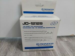 BRAND NEW IN THE BOX OLD SCHOOL PIONEER JD-1212S CD CHANGER 12 DISC MAGAZINE