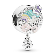 Pandora Blume Farbe Story Charm 797999 ENMX-s925 ALE-Original