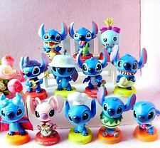 Lilo & Stitch Disney Action Figures Kid Display Figurines Toy Cake Topper Decor