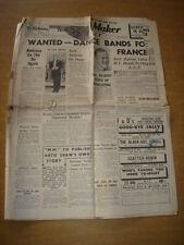 MELODY MAKER 1940 JANUARY 6 JACK HYLTON JACK JACKSON AMBROSE +