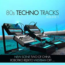 CD 80s Techno Tracks Vol.1 von Various Artists