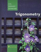 Trigonometry (9th Edition) by Lial, Margaret L. Hornsby, John Schneider, Davi…