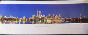 New York City Wiltshire Art PANORAMIC FRAMING POSTER   FAST FREE SHIPPING