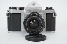 Asahi Pentax S1a + Super-Takumar 3.5 / 35mm lens (early) - M42 mount