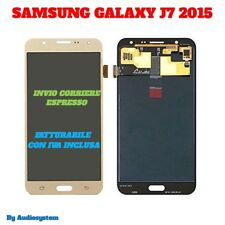 GLS: DISPLAY LCD+TOUCH SCREEN per SAMSUNG GALAXY J7 2015 SM-J700F J700 ORO GOLD