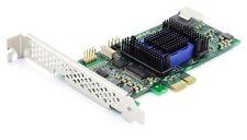 SATA3 SAS-2 4-Port RAID Controller Card Karte 6Gbps 128MB PCI-E PCI Express x1