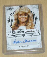 2016 Leaf Pop Century autograph Stunning Starlets Dyan Cannon