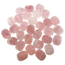 Natural Rose Quartz Gemstone Pocket Size Palm Stone Crystal 1 Inch
