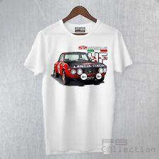 T-Shirt Maglietta Lancia Fulvia HF Rally Montecarlo Rally History Champion Car