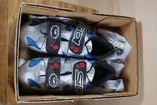 NEW!!! SIDI WOMANS CYCLING SHOES SIZE 37 SLIVER/BLUE/BLACK