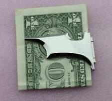 Matte Batman Money Clip badge Magnetic Folding Silver With Gift Box – US097