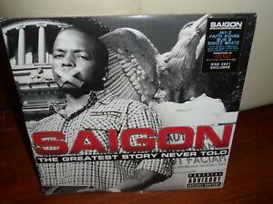 Saigon - The Greatest Story Never Told LP 2021 RSD Brand New Jay-Z Faith Evans