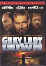 Gray Lady Down (Widescreen, DVD, 2004) Charlton Heston