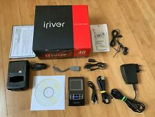 iRIVER H340 40GB Multi Media Player with NEW battery installed