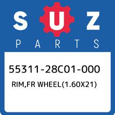 55311-28C01-000 Suzuki Rim,fr wheel(1.60x21) 5531128C01000, New Genuine OEM Part