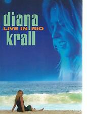 DVD - DIANA KRALL - LIVE IN RIO CONCERT  / JAZZ region ALL WORLD