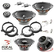 FOCAL 6 speakers kit for RENAULT / DACIA spacer rings adapters