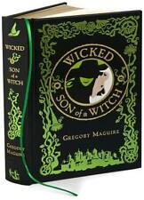 WICKED & SON OF A WITCH  ~GORGEOUS LEATHER GIFT EDITION W/ GOLD GILT~ WIZARD~OZ