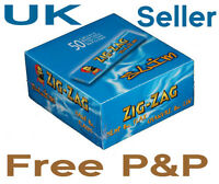 Zig Zag Blue King Slim Size Original Rolling Papers.