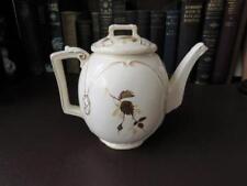19th c Victorian Teapot - Rare Shaped Victorian Teapot
