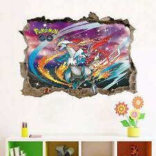 NEW 3D Pokemon Hugh Charizard Removable Wall Stickers Decal Kids Home Decor USA