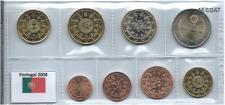 1x série UNC (8 pièces) 2€---1cent Portugal 2008 (neuves) sous pochette