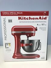 Kitchen Aid Professional Empire Red 6qt Bowl Lift  Stand Mixer KP26M9PCER 590 W