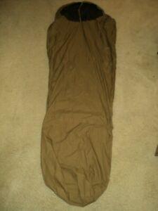 USMC ISSUE COYOTE IMPROVED BIVY SLEEPING BAG COVER 3 SEASON SLEEP SYSTEM CIF
