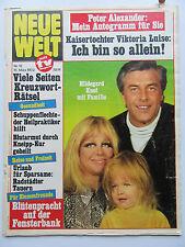Neue Welt 12/1972, Hildegard Knef, Anna Moffo, Angele Durand, Marianne Koch